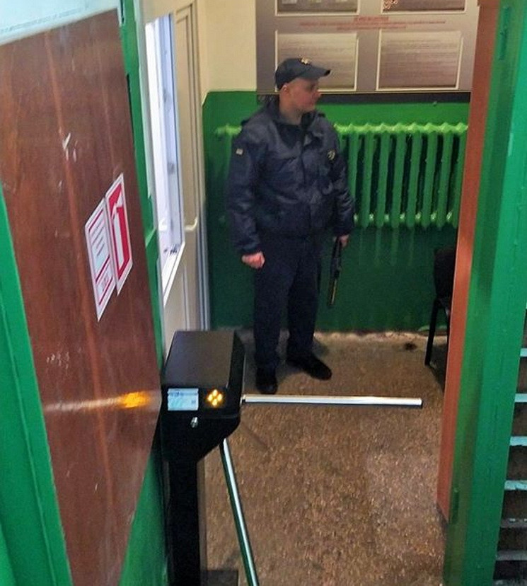 В суде Днепра установили металлодетектор…