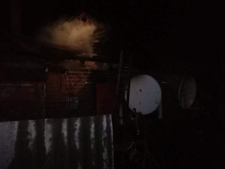 На Харьковщине в огне один человек погиб…