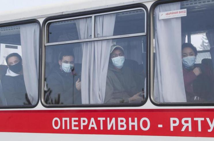 Тести не виявили в евакуйованих українці…