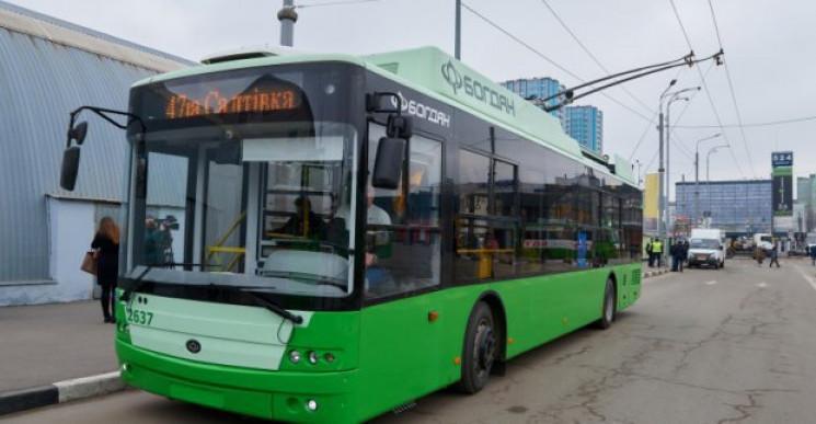 Харків візьме в лізинг 50 тролейбусів…