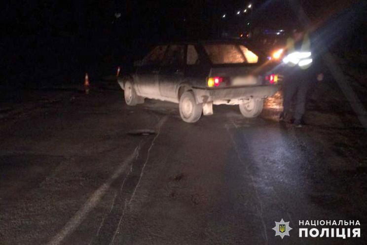 У Білогір'ї автівка збила пішохода…