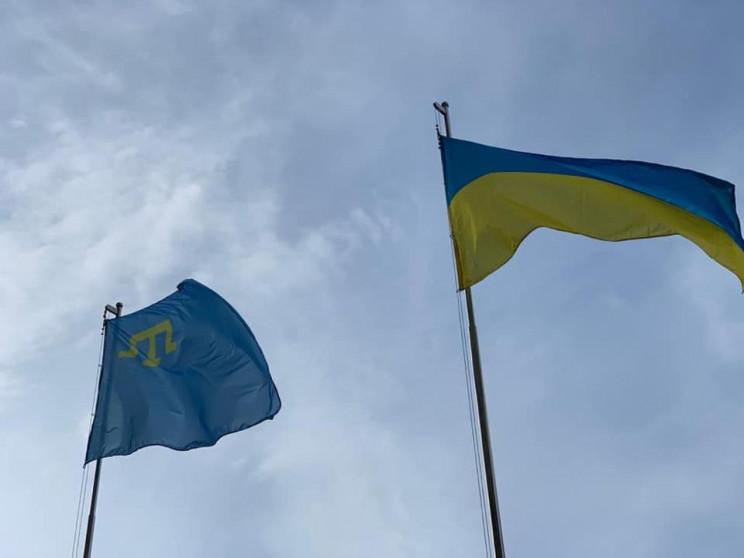 На Львівщині урочисто підняли прапор кри…