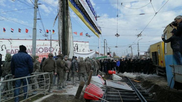 """Бійка на """"Барабашово"""" в Харкові: Вже пос…"""