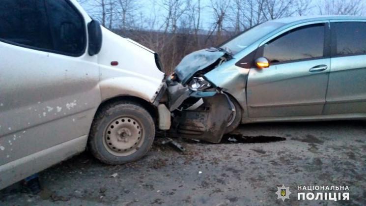 У ДТП на Хмельниччині травмувалися  двоє…