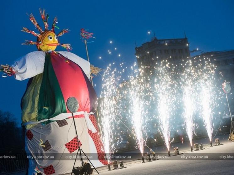 У центрі Харкова під час святкування Мас…