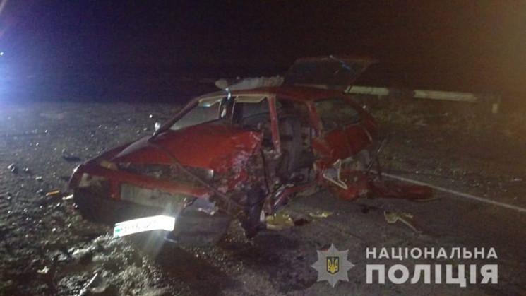В Белгород-Днестровском районе в аварии…