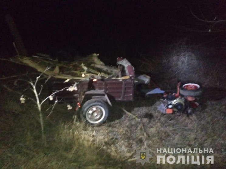 В Одесской области водитель погиб под со…