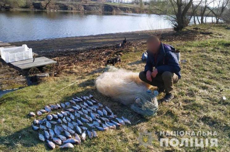 На Полтавщині поліція затримала браконьє…