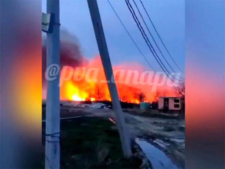 Під Анапою сталася природна пожежа площе…