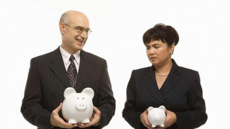 В Україні зарплати жінок на чверть менші…