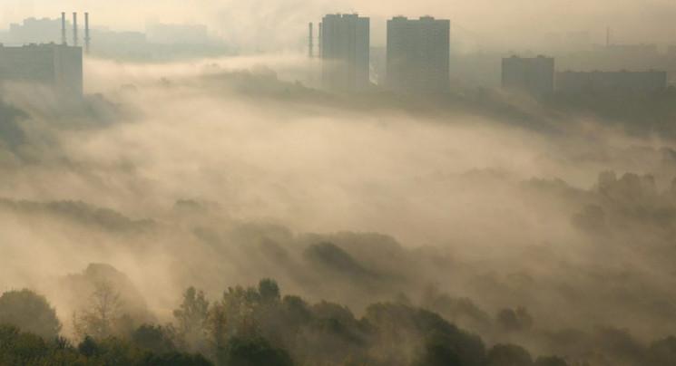 У Києві рівень забруднення повітря перев…