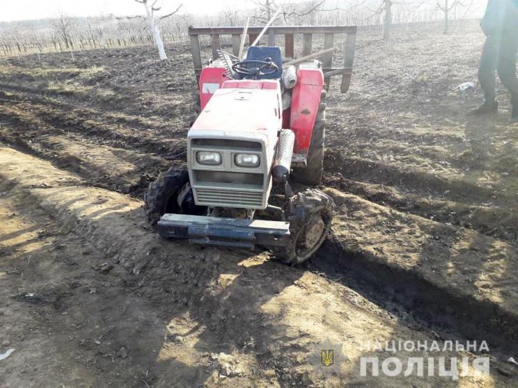 У Сокирнянському районі міні-трактор зад…