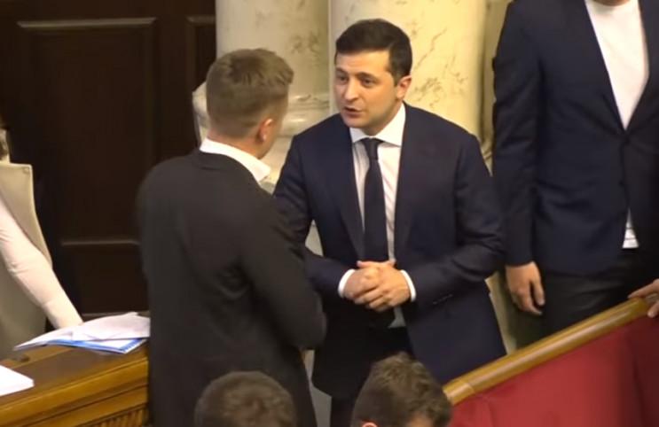 Зеленський заявив Гончаренку, щоб той не переходив на особистості ...