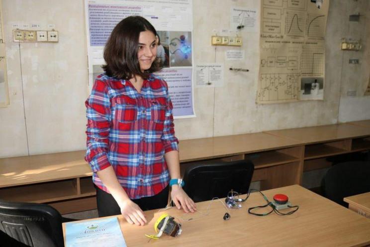 Українська студентка розробила унікальни…
