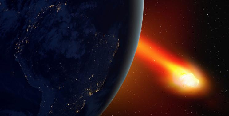 До Землі наближається великий астероїд…