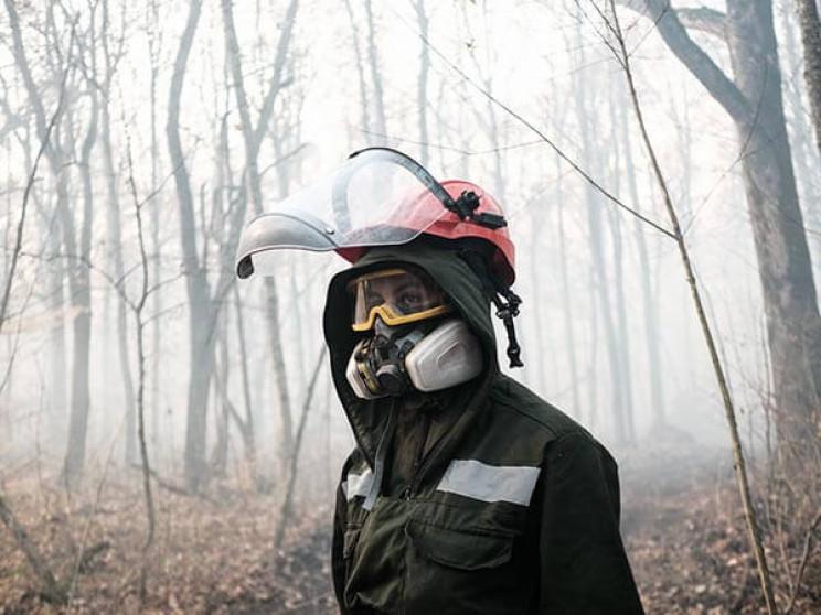 У лісі Гарячого Ключа загорілася підстил…