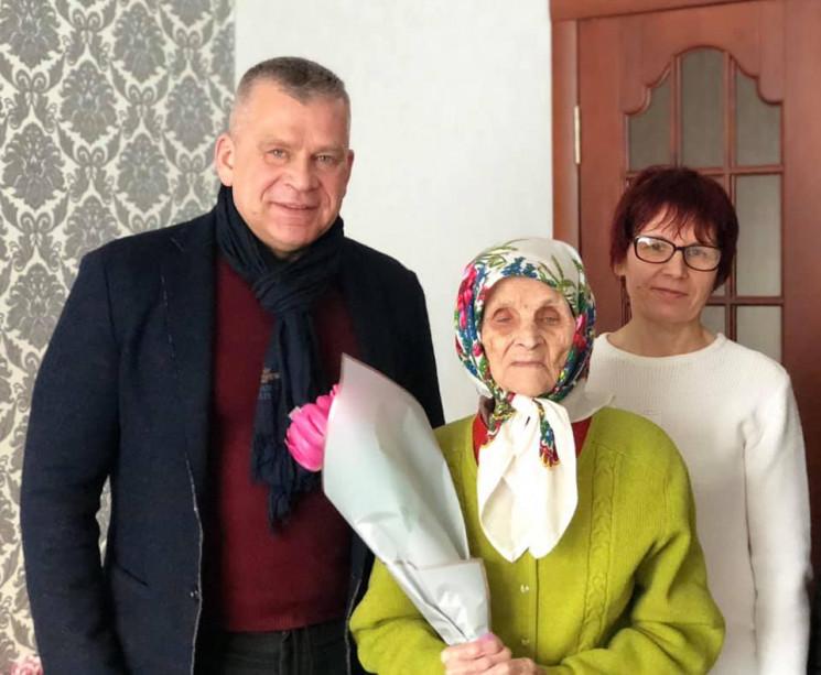 Одесситка отметила 100-летний юбилей…