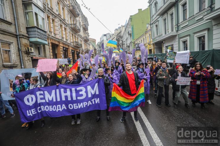В киевском Марше женщин приняли участие…