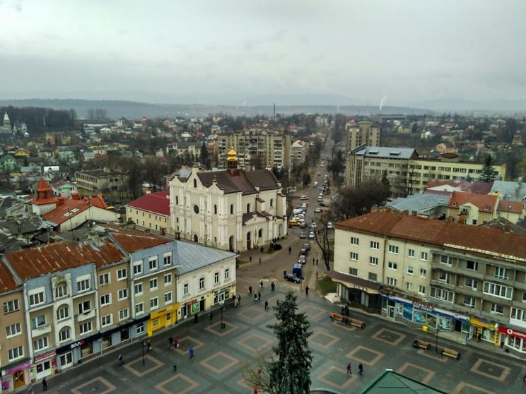 Який вигляд Дрогобич має з Ратуші (ФОТОР…