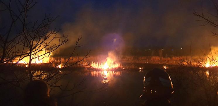 В Полтаве вблизи улицы Сосюры пожар унич…