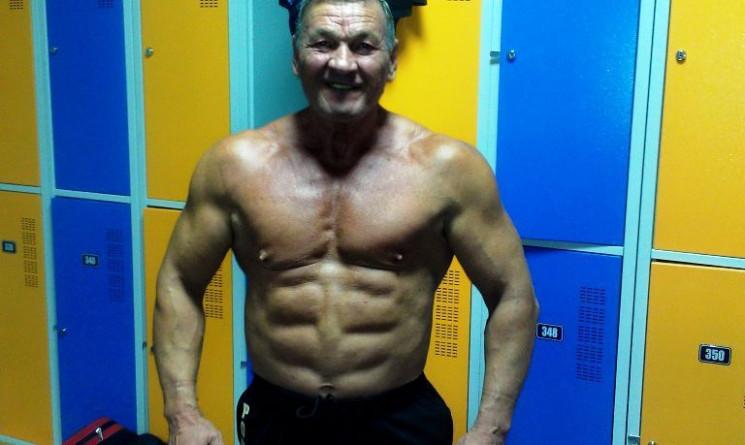 Український 72-річний тренер-бодібілдер…