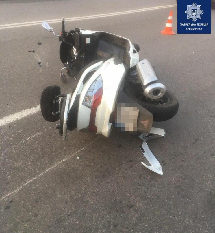 У Кременчуці мотоцикліст збив пішохода…