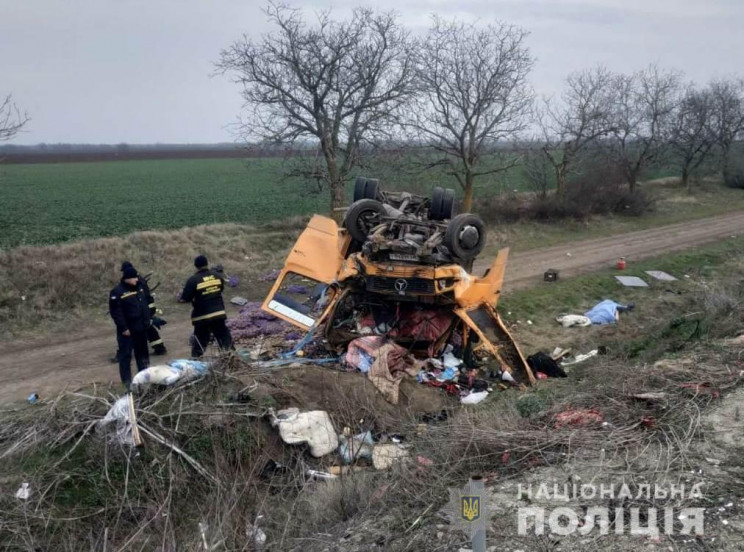 Жахлива аварія на автошляху Одеса-Рені:…