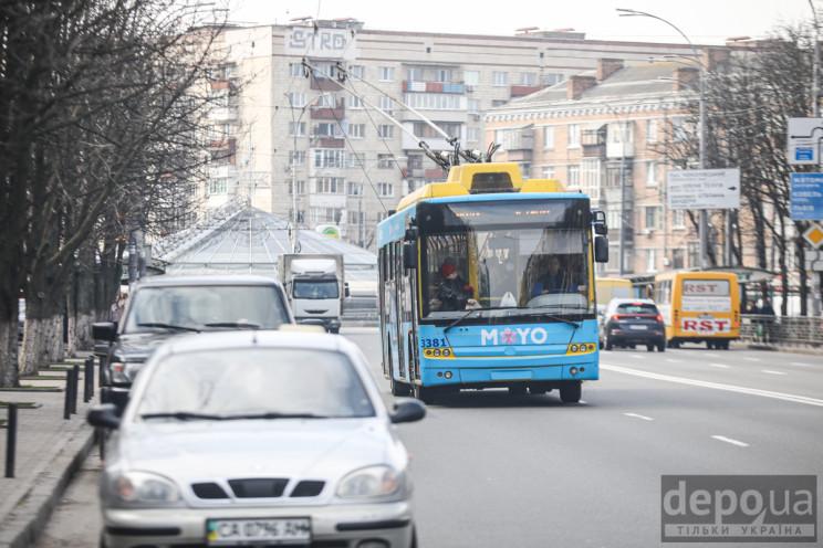 Робота громадського транспорту в Києві н…