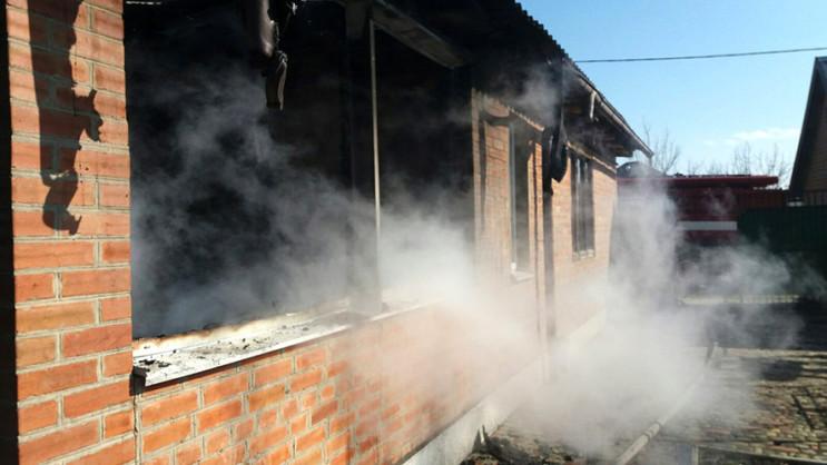 Под Полтавой в Горбаневке загорелся жило…