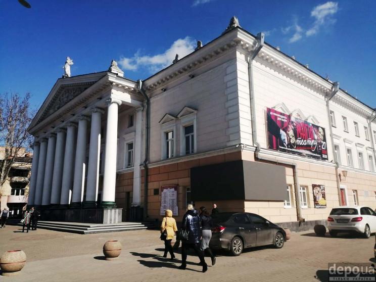 У Вінниці переносять театральні вистави…