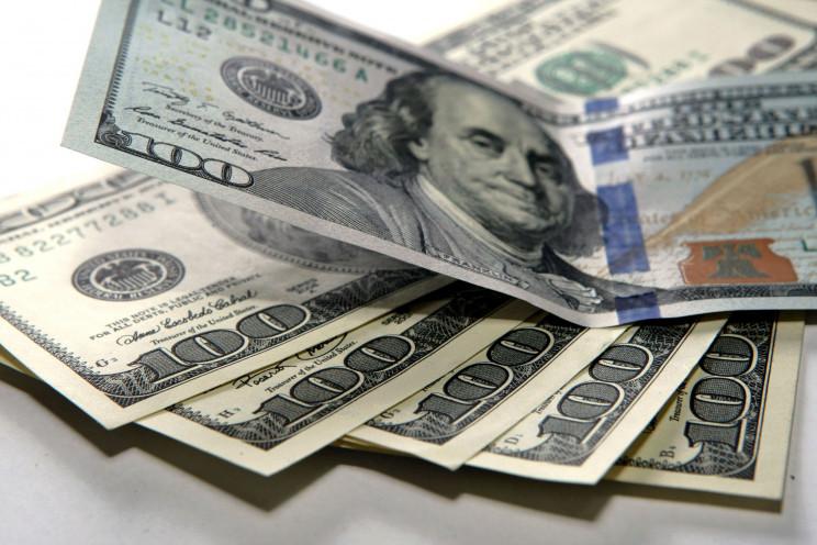 Доллар в столичных обменниках стоит уже…