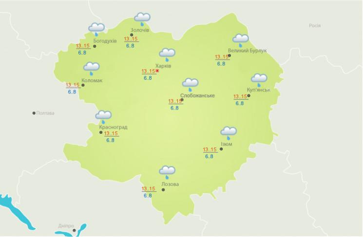 На Харьковщине сутки будет идти дождь, –…