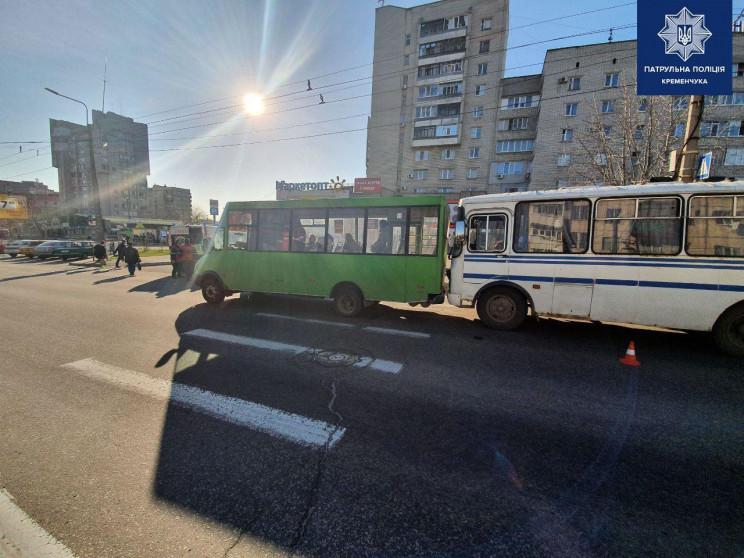 На Полтавщине столкнулись два автобуса,…