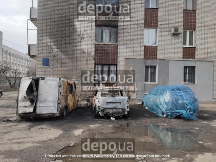 Поліція розслідує загоряння чотирьох авт…