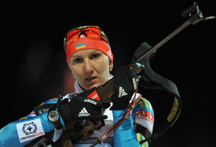 Українські біатлоністки провалили спринт…