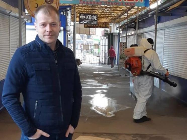 У Полтаві почали дезінфекцію територій к…