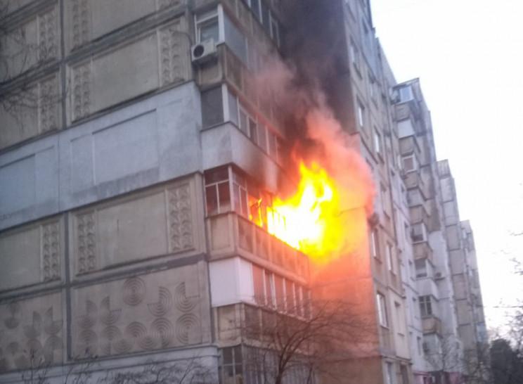 Під час пожежі в Горішніх Плавнях рятува…