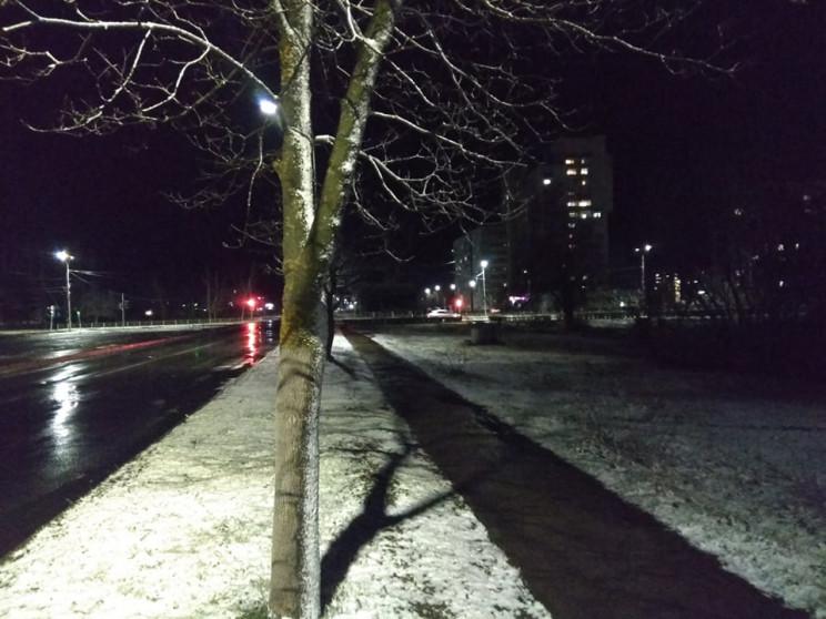 Несподівано: У Нетішині випав сніг…