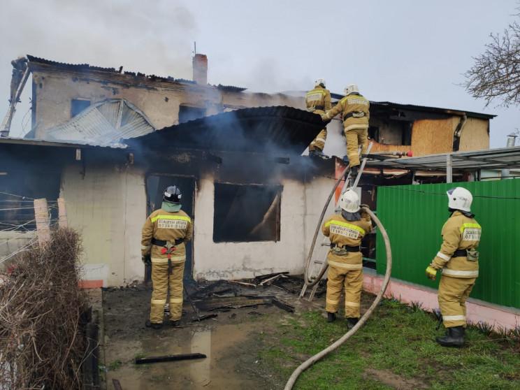У Темрюкському районі згоріли три кварти…