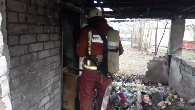 Житель Кропивнитчины обгорел на пожаре…