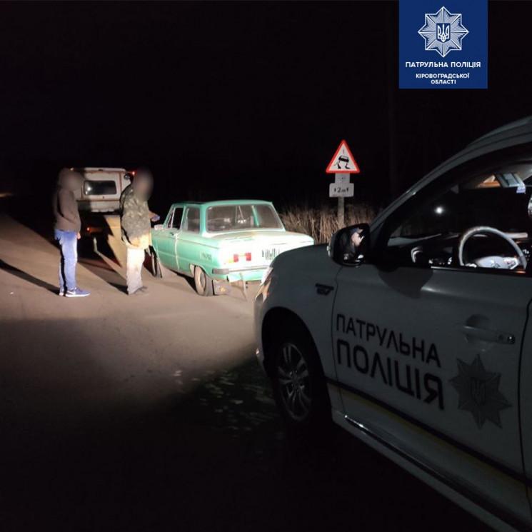 Поблизу Кропивницького патрульні зупинил…