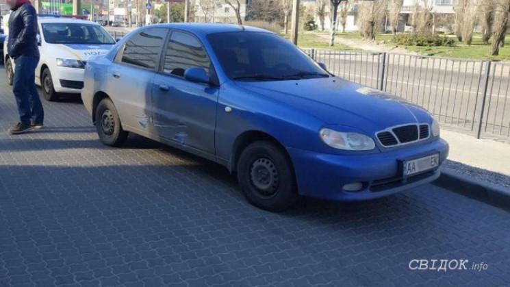 В Николаеве на АЗС произошло ДТП…