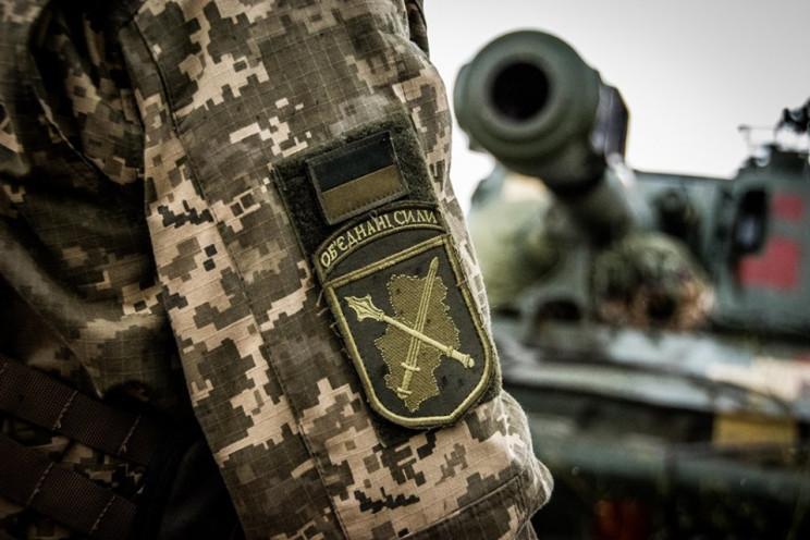 На Донбасі бойовики поранили двох бійців…