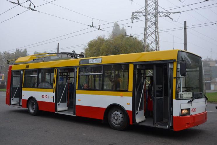 В Одесі трамваї та тролейбуси не їздитим…