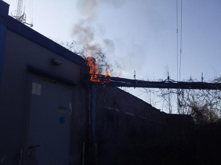Рятувальники Сумщини ліквідували пожежу…