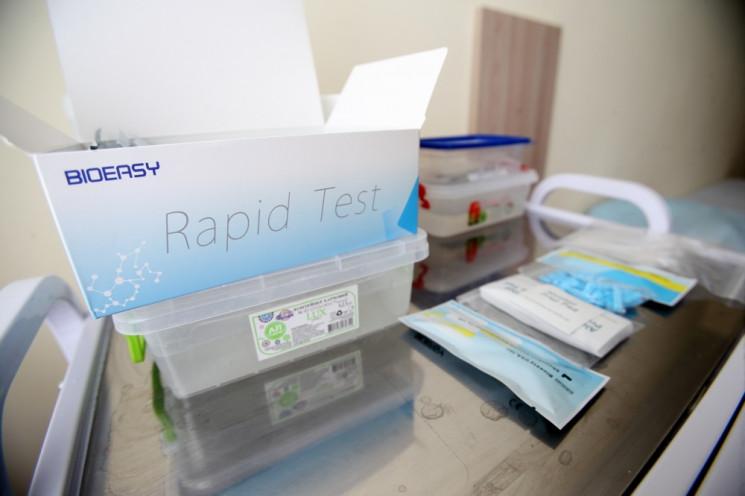 Тернополь получил первые экспресс-тесты…