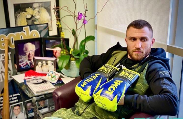 Ломаченко і коронавірус: Зірковий боксер…