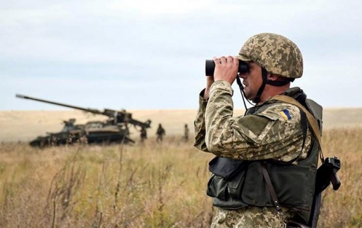 Боевики обстреляли позиции ВСУ под Новго…