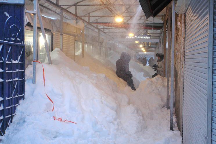 Снежный апокалипсис в Киеве: Как семь ле…