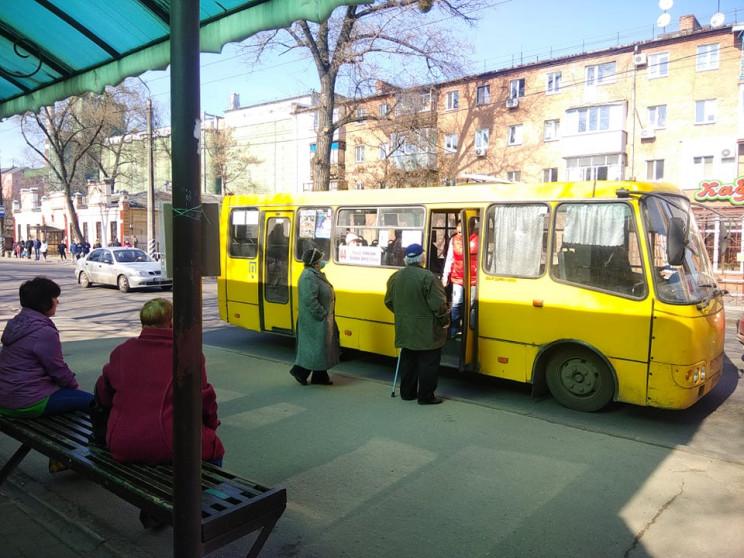 В общественном транспорте Сум на время к…